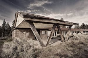 Juniper Lodge on HWY 97 in Northern California