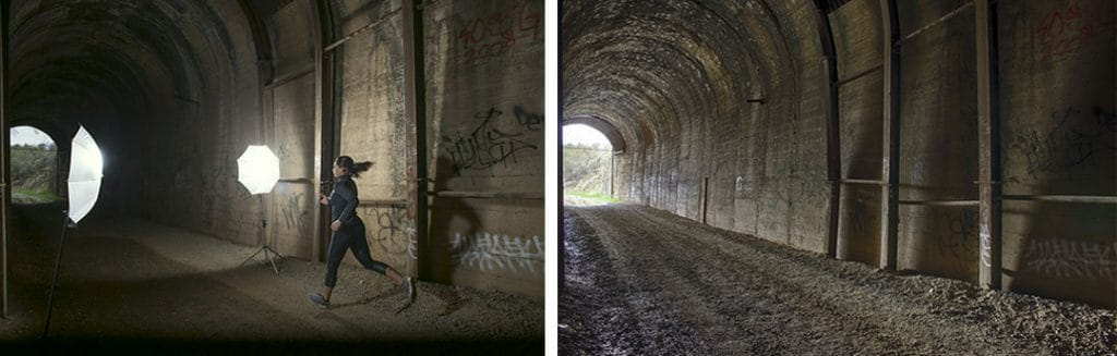 HDR and Strobed Images Before They Were Combined.