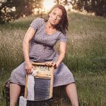 Rural Life Maternity Photo Shoot