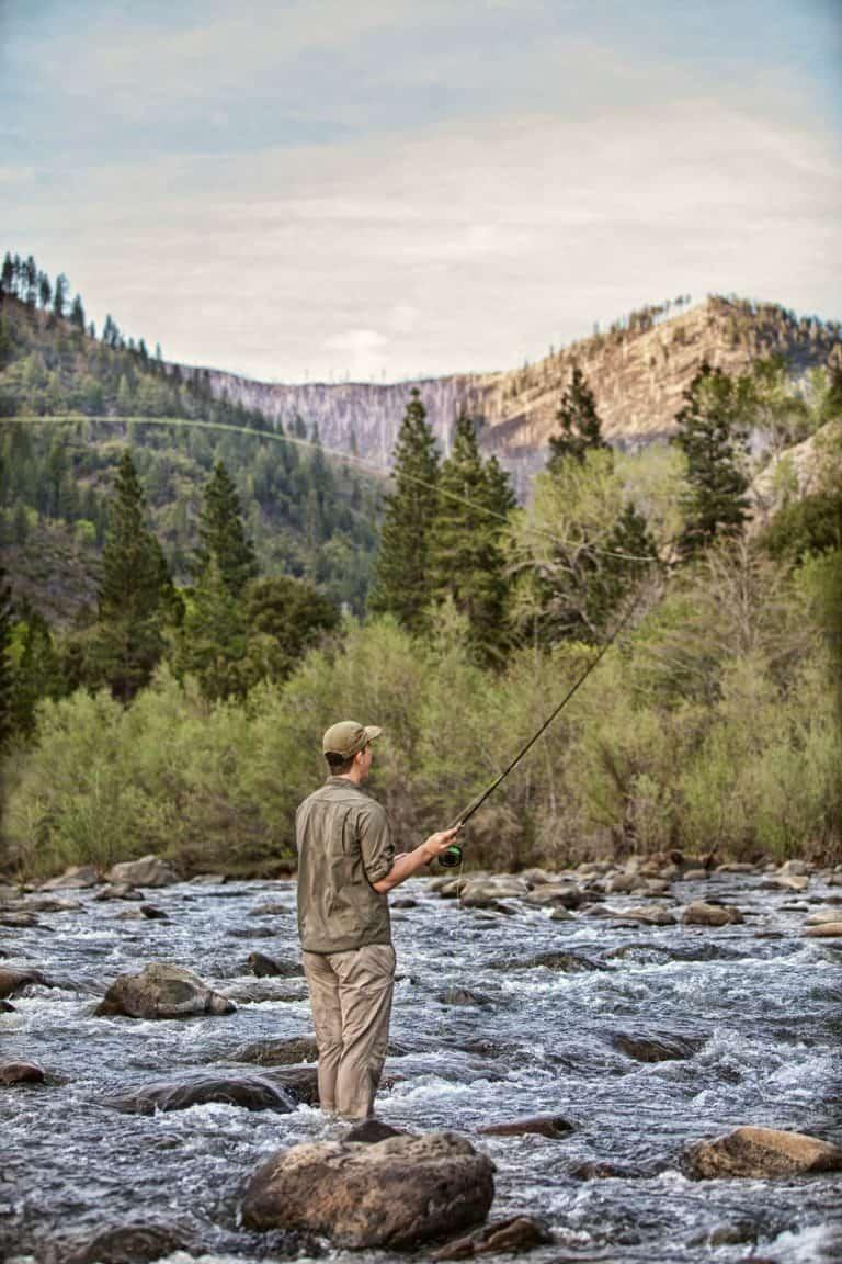 Mountain Fly Fisherman