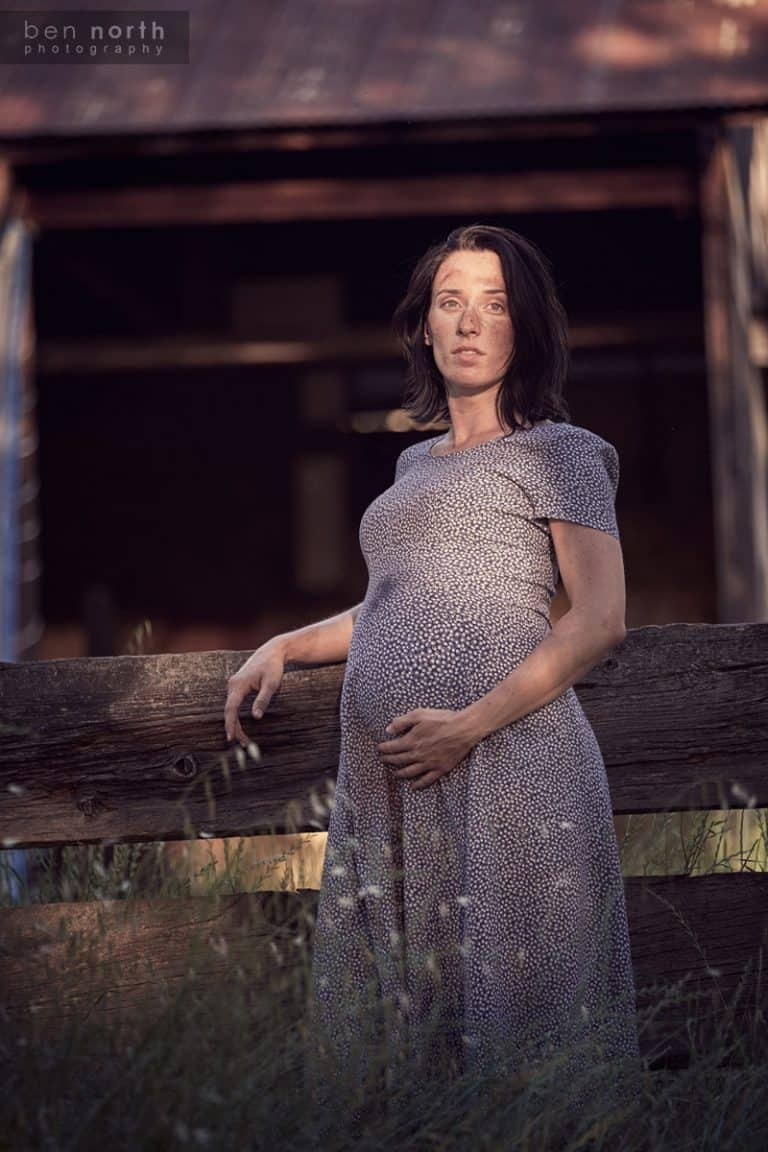 Rural lifestyle maternity Photoshoot