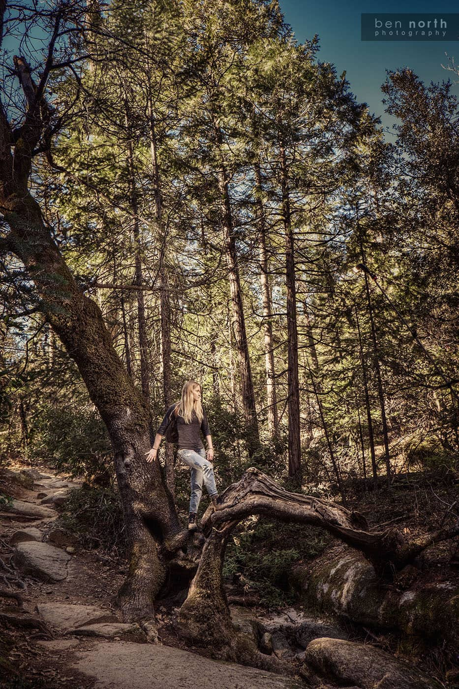 Outdoor Lifestyle Photography - Backpacking on Bald Rock