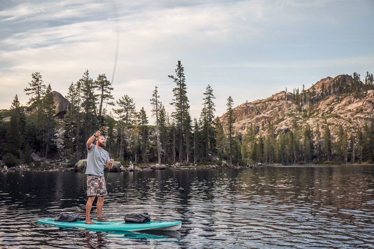 Paddle Board Fly Fishing