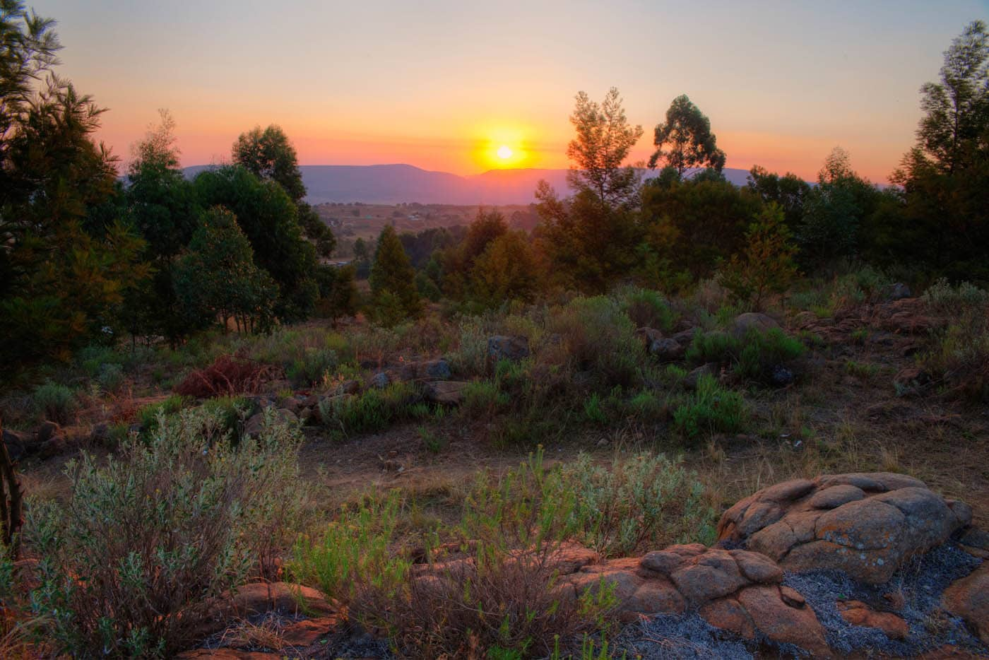 Swaziland Sunset