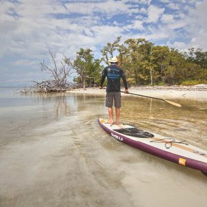 Justin Riney in the Florida Keys